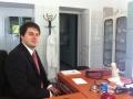Dr. Faddi Zoltán az új rendelőben